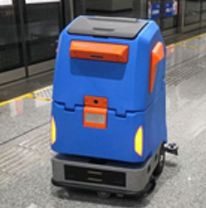 全自动无人驾驶清洁机器人