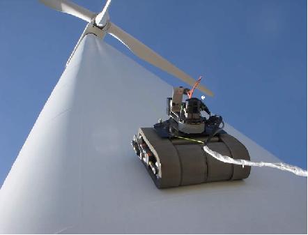 风电检测机器人