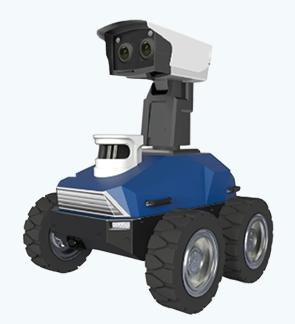 轮式巡检机器人